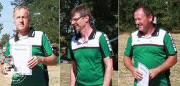 Den dritten Platz belegte Wolfgang Specht mit 465 Ringen in der Ü45/ Ü55/ Ü65 Jagdbogenklasse. Unsere letzten beiden Starter belegten jeweils den 4. Platz. Andreas Heisler mit 550 Ringen in der  Ü45/Ü55 Recurveklasse und Frank Bienek mit 409 Ringen