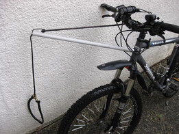Self built bike-antenna