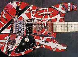 Edward Van Halenが自作の改造ストラトキャスター