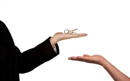 Hausverkauf wegen Scheidung / Trennung.  Möglichkeiten für Sie.