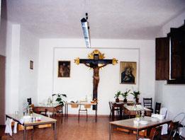 Roccagloriosa - il refettorio.