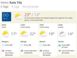 Quelle: Wetter.de