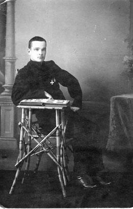 Анатолий Александрович Вилисов. Иркутск, после госпиталя. 1916 год Из личного архива Анны Лавровой