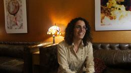Im Gespräch mit Sigalit Mutzafi. (Foto: JDB Media GmbH)