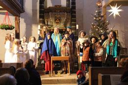 Krippenspiel am Heiligen Abend in Ziegenhain