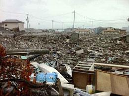 被災地の様子(石巻市H23.6)