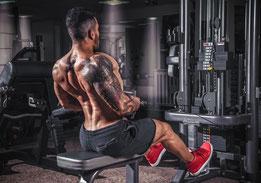 Trainingsschema trainingsschema's workout workoutschema spierkracht ontwikkelen opbouwen rug