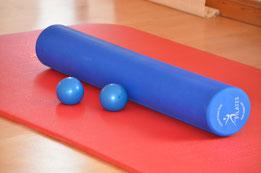 Pilates Roller und Toning Bälle