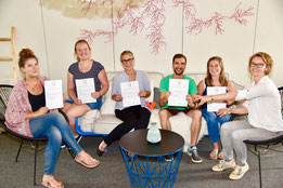 Zertifizierung unserer angehenden Gesundheits- und Tourismusmanager zum Qualitäts-Trainer der Initiative Servicequalität Deutschlandd