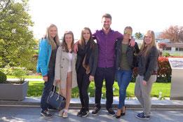 Tourismus-Studenten bei Buchinger