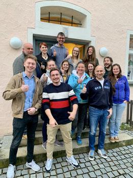 Die Teilnehmer*innen des Fachkreises vom 10. April 2019; Foto: Markus Ott, KJR Neumarkt