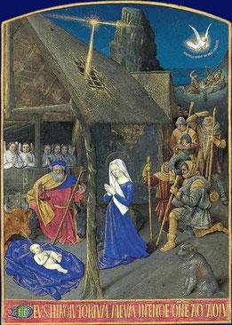Nativité, Jean Fouquet, XVe siècle