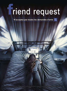 Friend Request de Simon Veroheven - 2016 / Epouvante - Horreur