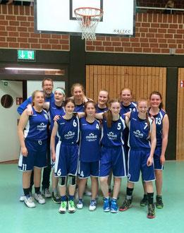 Unsere weibliche U17 setzte sich gegen den Landesligisten aus Rotenburg/Scheeßel durch. Foto: BBL