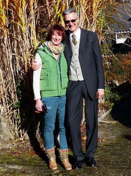 Roswitha & Hanspeter Schmider am Christkönigssonntag 2014