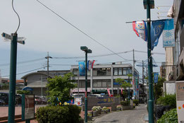 パデュ通りと交わる十字路