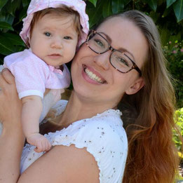 Bettina mit Tochter Lynn