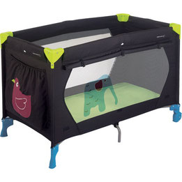 camping-calme-avec-lit-bébé-dans-les-landes