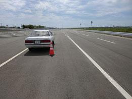 徳島県運転免許センター障害物