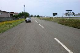 秋田県運転免許センター障害物