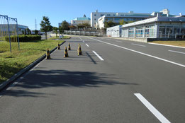 神奈川県運転免許試験場障害物