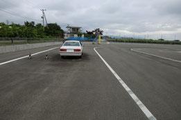 福島運転免許センター障害物