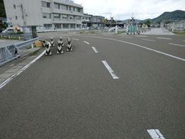 高知県運転免許センター障害物