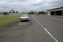 宮城県運転免許センター障害物
