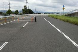 島根県運転免許センター障害物