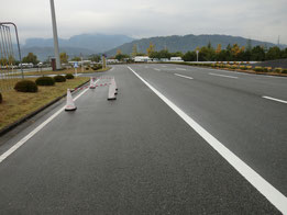 広島県運転免許センター障害物
