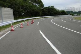 愛知県運転免許試験場障害物