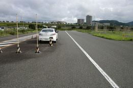 山口県総合交通センター障害物
