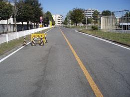 群馬県総合交通センター障害物
