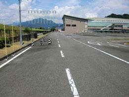 静岡県中部運転免許センター障害物