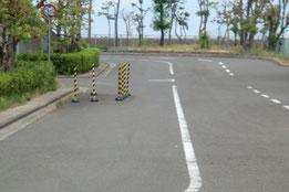 香川県運転免許センター障害物