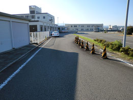 和歌山県自動車運転免許第1試験場(岡崎交通センター)障害物