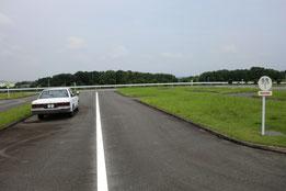 熊本県運転免許センター障害物