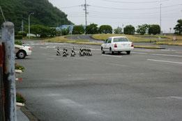 愛媛県運転免許センター障害物