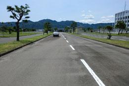 鹿児島県運転免許試験場障害物