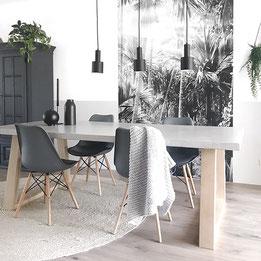 beton cire tafel