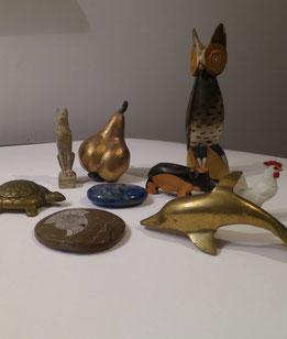 Tierarchetypen und/oder symbolische Gegenstände sind beredte Stellvertreter