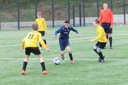 D1-Jugend im Spiel an der Ardelhütte. - Fotos: s.v.g.