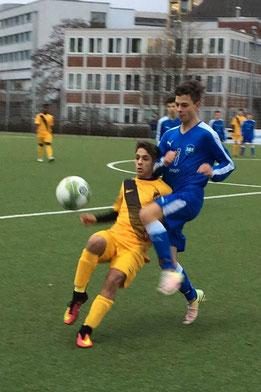 TuS B-Jugend gegen SG Schönebeck B3. - Fotos: lua.