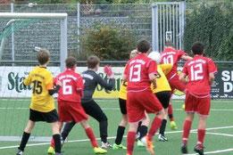D1 gegen Adler Union Frintrop. - Foto: s.v.g.