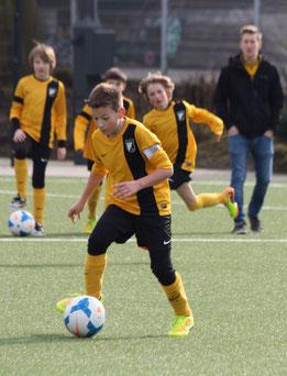 E1-Jugend im Spiel gegen ESC Preußen. - Foto: p.d.