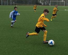 E1-Jugend im Spiel gegen Frohnhausen. - Foto: p.d.