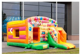 Hüpfburg für Kinderfest Kindergeburtstag