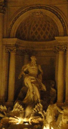 Statua del Dio Oceano, particolare