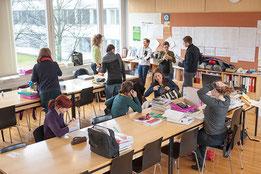 Lehrer*innen fordern ein zeitlich befristetes Schul-Leitungsteam  Bild: Joachim Wiesner