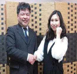東邦大学現役合格!当教室の1期生、川合来実さん。おめでとう!!